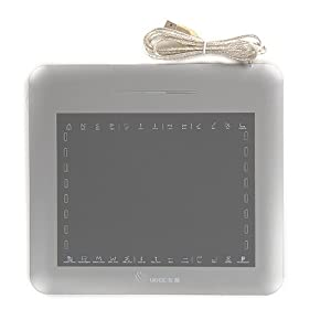 Amzdeal 8 x 6 Inches Graphic Drawing Tablet