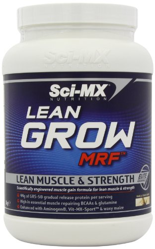 Sci-MX Nutrition Lean Grow MRF 1000 g Vanilla Lean Muscle and Strength Shake Powder