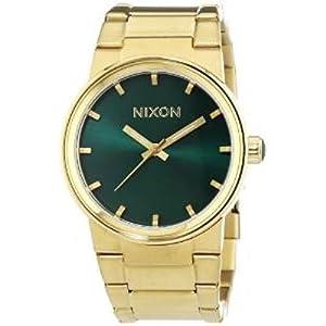 Nixon A1601919 40mm Gold Steel Bracelet & Case Mineral Men's Watch