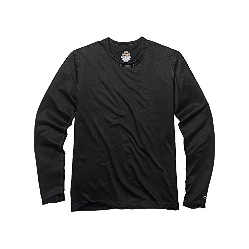 Duofold by Champion Varitherm Mid-Weight 2-Layer Kids' Thermal Shirt, Black, M (Champion Compression Pants Women compare prices)