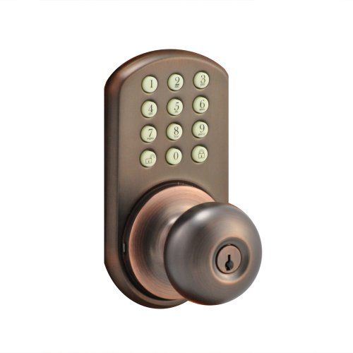 Morning Industry Hkk-01Ob Keypad Knob Entry, Oil Rubbed Bronze