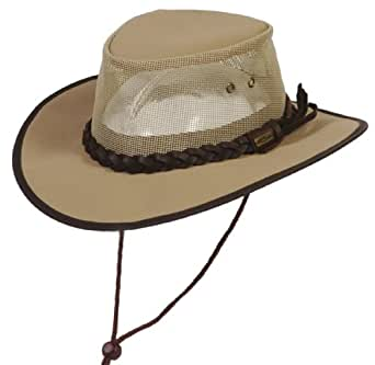 CoV-Ver Hats Crushable Waterproof Australian Canvas Outback Hat at