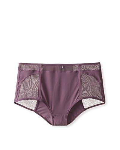 Addiction Lingerie Women's High-Waisted Panty  [Purple]