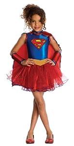 Justice League Child's Supergirl Tutu Dress - Medium