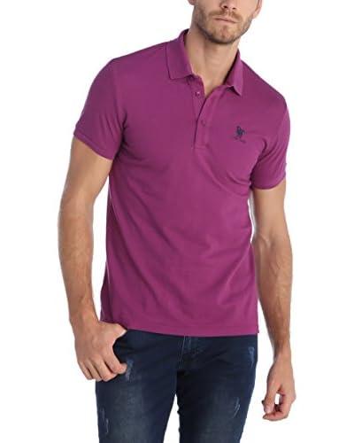 SIR RAYMOND TAILOR Poloshirt purpur