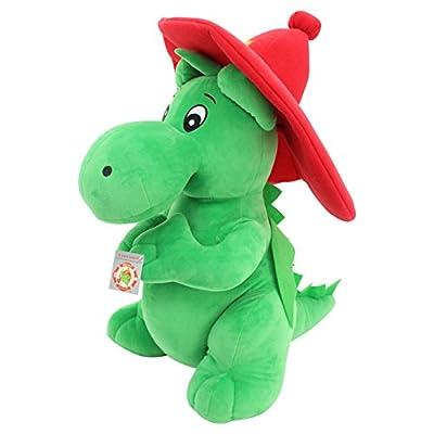 Sweety Toys 6182 Drache GRISU Feuerwehr Maskottchen Plüsch ca. 60 cm