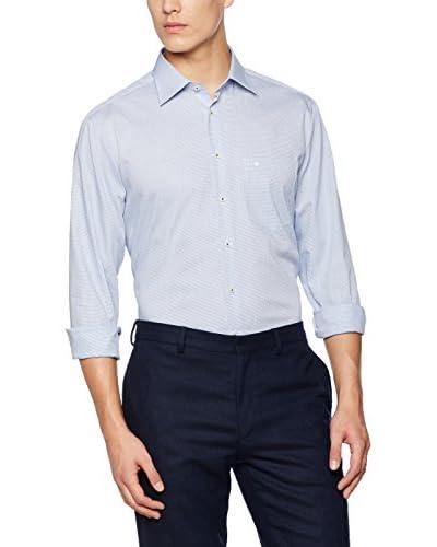 Seidensticker Camisa Vestir Azul