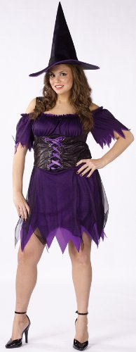 Costumes For All Occasions FW120965 Dark Witch Plus Size 16-24