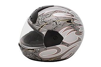 Negro Mate NZI Must II Casco de Moto 59-60 L