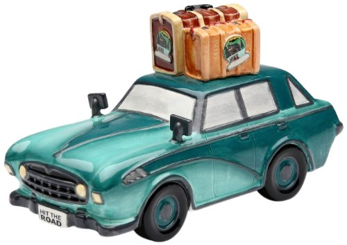 Appletree Design Road Trip Car Bank, 6 by 3-3/8-Inch