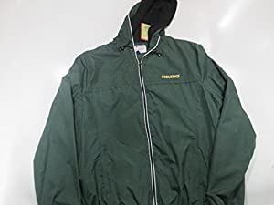 Oakland Athletics Womens X-Large Full Zip Embroidered Hooded Windbreaker Jacket AOLA 23 XL