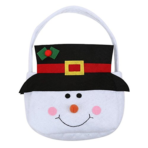 Xmas Candy Bag,Morecome Elf Spirit Gift Kid Children Christmas Snowman
