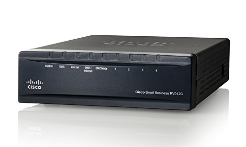 Cisco Rv042G-K9-Na Dual Gigabit Wan Vpn Router