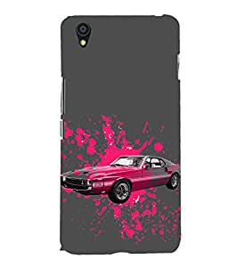 Vintage Car 3D Hard Polycarbonate Designer Back Case Cover for OnePlus X :: One Plus X :: One+X