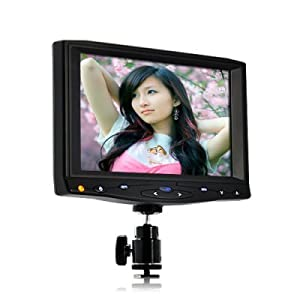 Audel 7 Inch On-Camera HD DSLR Monitor (1080P, HDMI)