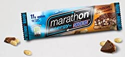Snickers Marathon ENERGY Bar Crunchy Dark Chocolate 12 Bars