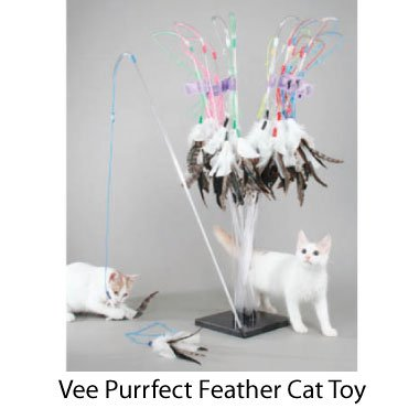 Vee Purrfect Feather Cat Toy from Vee Enterprises