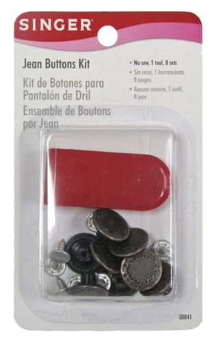 Purchase Singer Jean Buttons Kit, 8 Set with Tool