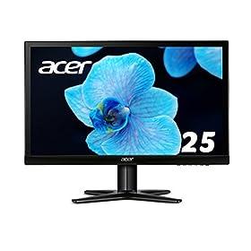 Acer ディスプレイ モニター G257HLbidx 25インチ/IPS液晶/フルHD/4ms/HDMI端子付