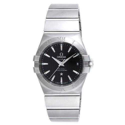 [オメガ]OMEGA 腕時計 コンステレーション ブラック文字盤 コーアクシャル自動巻 123.10.35.20.01.002 メンズ 【並行輸入品】