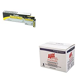 KITCPM04368EVEEN91 - Value Kit - Ajax Dish Powder Beads (CPM04368) and Energizer Industrial Alkaline Batteries (EVEEN91)