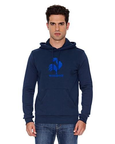 Le Coq Sportif Sudadera Po Hood M Osr Azul