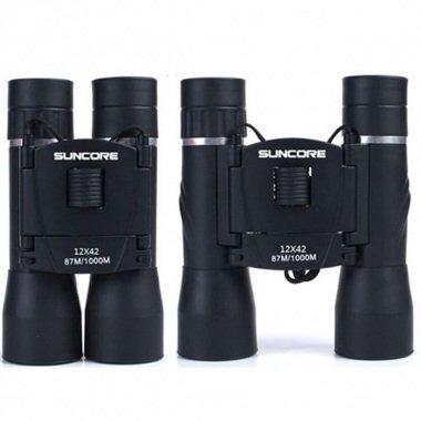 Suncore 12X42 Hd Night Vision Telescope Outdoor Hiking Binoculars