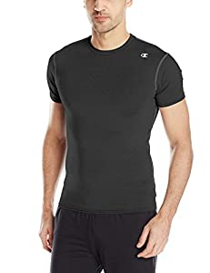 Champion Men's Double Dry Short Sleeve Compression Tee