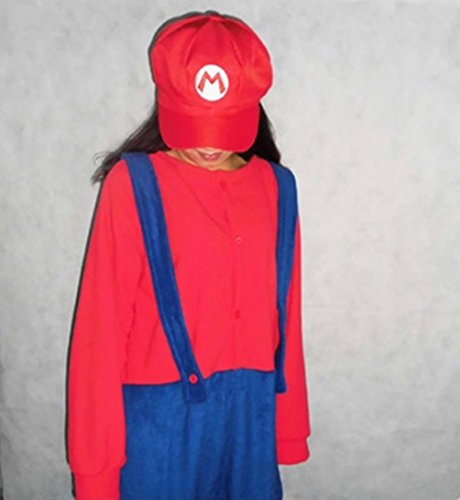 Adults Costume Super Mario