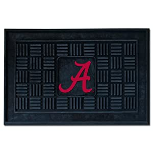 Buy FANMATS NCAA University of Alabama Crimson Tide Vinyl Door Mat by Fanmats