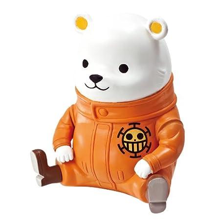 【ワンピース】かわいいクマだけど強い「ベポ」!!