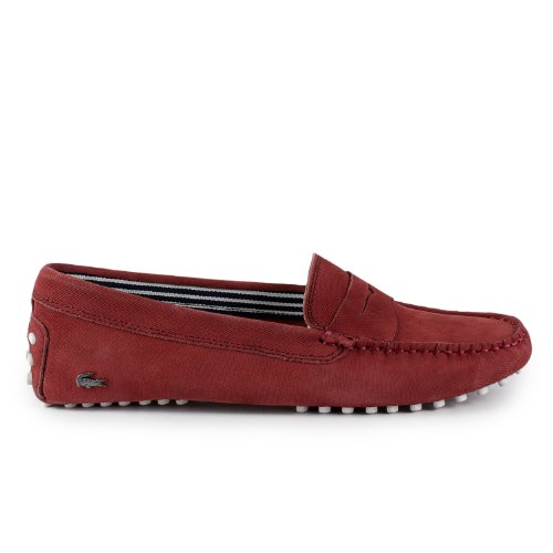 007bf3df66db The Features Women s Lacoste Concours 4 SRW LTH 7 25SRW1100047 Red Lth  Sneakers Women s 8 Red -