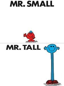 Mr Men Set Of 2 Fridge Magnets Mr Small Amp Mr Tall