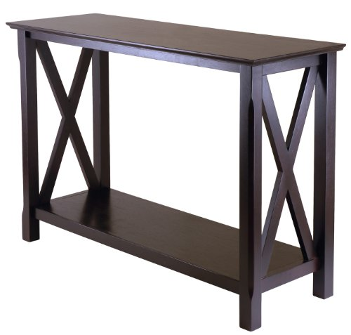 Cheap winsome wood 40445 xola console entry table cappuccino home kitchen shopping in us - Cheap entrance table ...