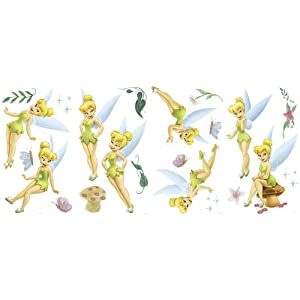 Tinker Bell Wall Decals