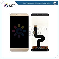 Casecart LETV LE 1S Lcd Touch Screen Display Digitizer Assembly Screen Replacement Without Frame - GOLD