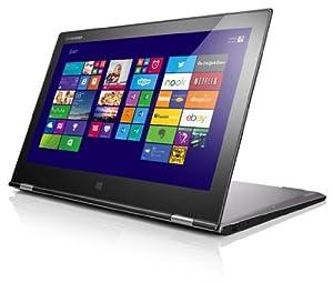 Lenovo Yoga 2 Pro 33,8 cm (13,3 Zoll QHD IPS) Convertible Ultrabook (Intel Core i7 4500U, 3,0 GHz, 8GB RAM, 512GB SSD, Touchscreen, Win 8.1) silber/grau