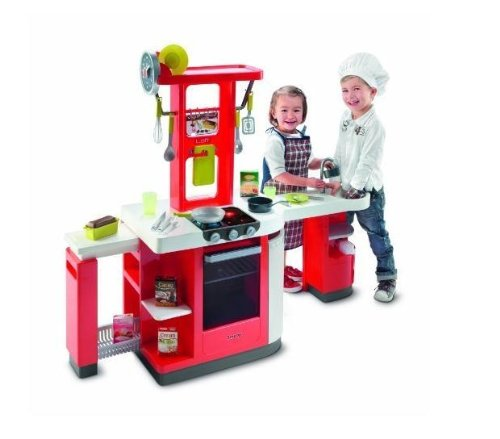 Smoby 24553 Loft Kitchen, large play area with kitchen baking trays with scalable and modular elements New 2010