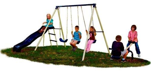 Flexible-Flyer-Triple-Fun-Swing-Set