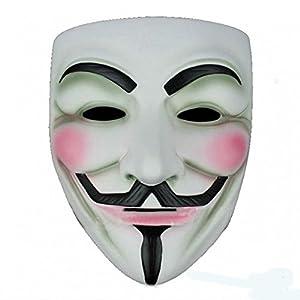 costume Mask V for Vendetta Anonymous