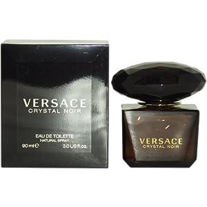 Versace Crystal Noir Eau De Toieltte Spray for Her 90ml