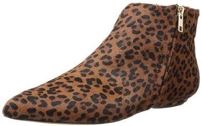 Corso Como Women's Maude Ankle Boot,Dark Leopard Hair Calf,6 M US