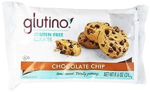 Glutino Gluten Free Cookies, Chocolate Chip, 8.6 Ounce