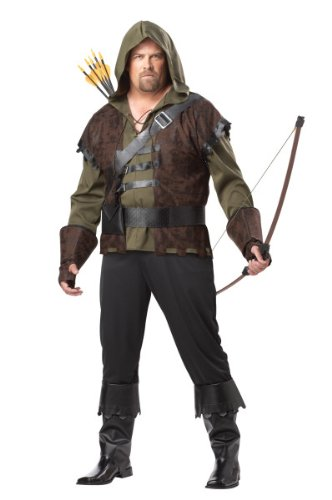 Robin Hood Costume - XX-Large - Chest Size 48-52