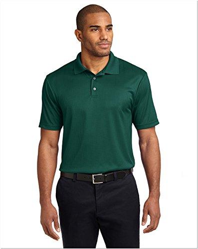 port-authority-performance-fine-jacquard-sport-shirt-m-green-glen