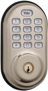 Yale Electronic Push Button Deadbolt with Z-Wave Tech