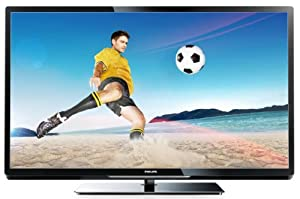 Philips 42PFL4007K/12 107 cm (42 Zoll) LED-Backlight-Fernseher, EEK A (Full-HD, 200Hz PMR, DVB-C/T/S, CI+, Smart TV Plus, WiFi ready) schwarz
