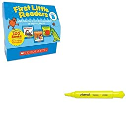 KITSHSSC522302UNV08861 - Value Kit - Scholastic First Little Readers Level B (SHSSC522302) and Universal Desk Highlighter (UNV08861)