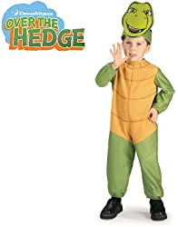 New Over The Hedge Vern Turtle Costume Infant Baby 6-12