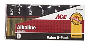 Ace Alkaline Battery (AH1300F8)